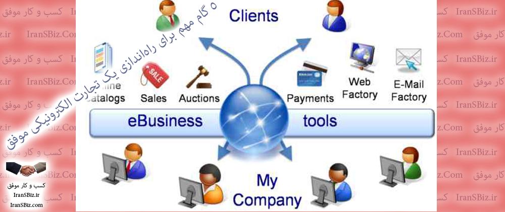 ۵ گام مهم برای راهاندازی یک تجارت الکترونیکی موفق 🎯